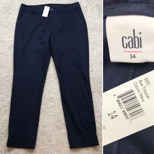 Cabi 3201 Ava Trouser 14 Classic Navy Pants